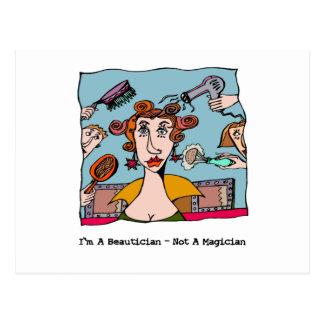 Ik ben een Schoonheidsspecialist - niet een Briefkaart