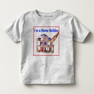 Ik ben een T-shirt van de Peuter van de Bouwer van