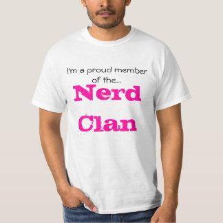 Ik ben een trots lid van…, Clan Nerd T Shirt