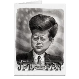 Ik ben een Ventilator JFK Wenskaart