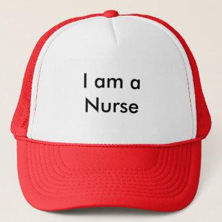 Ik ben een Verpleegster Trucker Pet