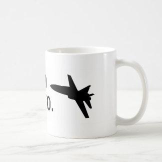 Ik ben F-18, bro Koffiemok