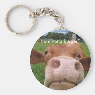 Ik ben geen hamburger sleutelhanger