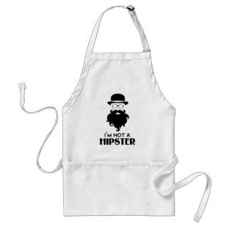 Ik ben geen Hipster Standaard Schort