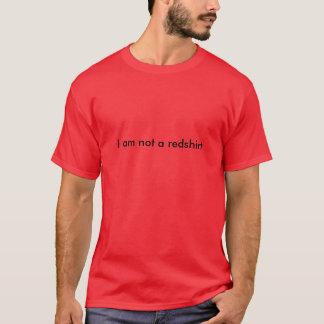 Ik ben geen redshirt t shirt