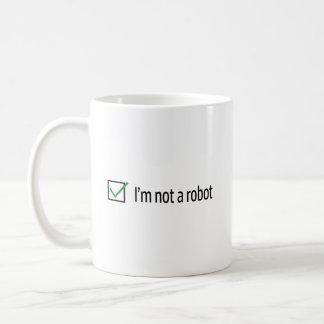 Ik ben geen Robot Koffiemok