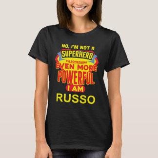 Ik ben geen Superhero. Ik ben RUSSO. De Verjaardag T Shirt