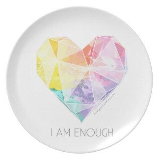 Ik ben genoeg - het Dineren Bord