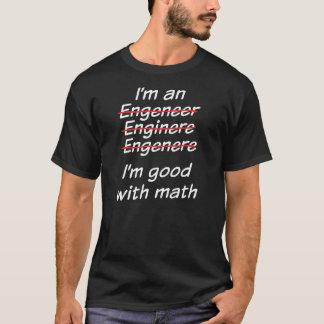 Ik ben goed met wiskunde t shirt