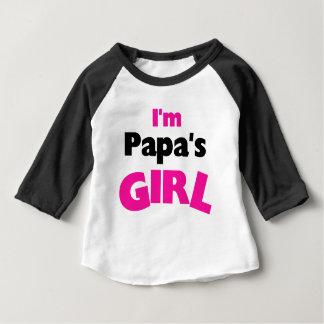 Ik ben het Meisje van de Pa Baby T Shirts
