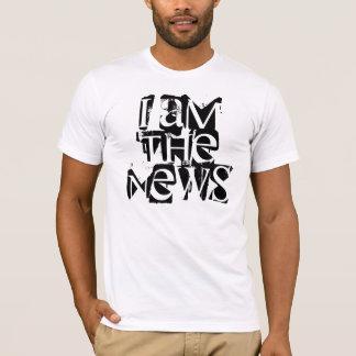 Ik ben het nieuws t shirt