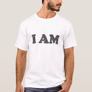 Ik ben het Positieve Overhemd van Bevestigingen T Shirt