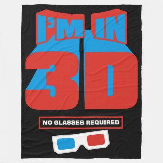 Ik ben in 3D (Geen Vereiste Glazen) Fleece Deken