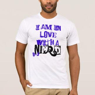 ik ben in liefde met a, nerd, d&j t shirt