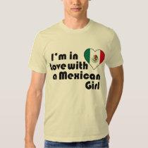 Ik ben in liefde met een Mexicaans Meisje Shirt