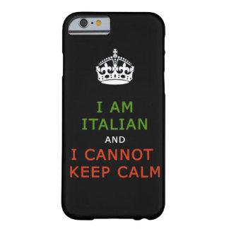 ik ben Italiaans en ik kan geen kalm telefoonhoesj Barely There iPhone 6 Hoesje