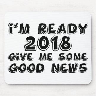 Ik ben klaar 2018 muismat