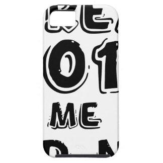 Ik ben klaar 2018 tough iPhone 5 hoesje