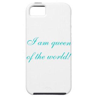 Ik ben koningin van de wereld! tough iPhone 5 hoesje