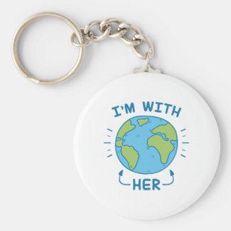 Ik ben met haar sleutelhanger