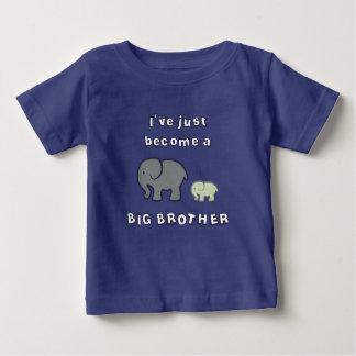 Ik ben net een GROTE BROER geworden Baby T Shirts