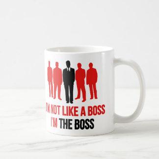 Ik ben niet als een Werkgever. Ik ben de Werkgever Koffiemok