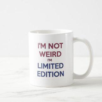 Ik ben niet Bizar ik ben de Beperkte Humor van de Koffiemok
