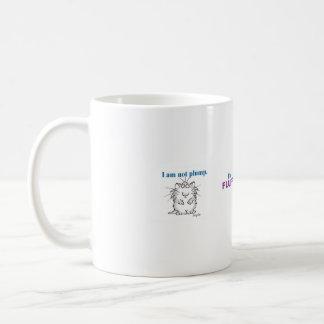 Ik ben niet mollig, ben ik pluizig koffiemok