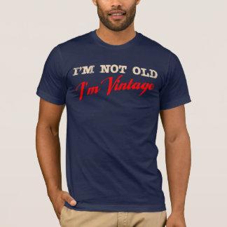 Ik ben niet Oud, ben ik Vintage (manuscript) T Shirt