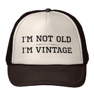 Ik ben niet Oud, ben ik Vintage (verdeler) Mesh Petten