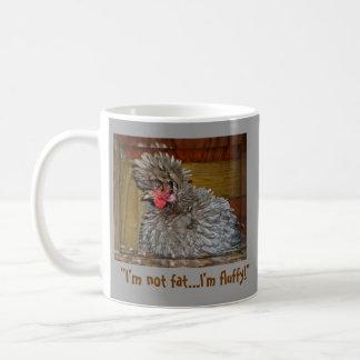 Ik ben niet Vet… Ik ben Pluizig! Koffiemok