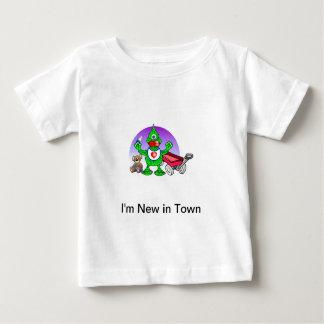 Ik ben Nieuw in de T-shirt van het Baby van de