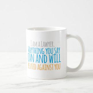 Ik ben om het even wat van de ADVOCAAT u kunt en Koffiemok