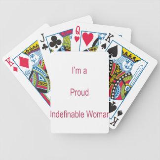 Ik ben Ondefiniëerbaar Bicycle Speelkaarten