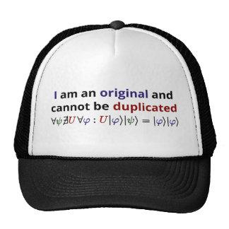 Ik ben origineel en kan niet worden gedupliceerd petten met netje