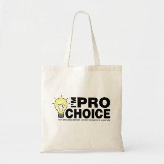 Ik ben pro-keus wanneer het spreken over lightbulb draagtas