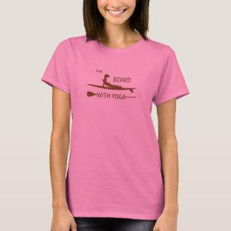 Ik ben Raad met Yoga T Shirt