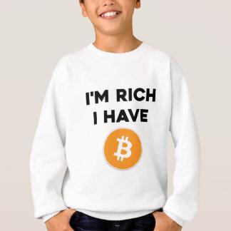 Ik ben rijk - ik heb Bitcoin Trui