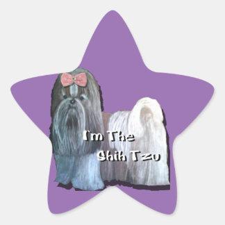 Ik ben Shih Tzu - de Stickers van de Ster - Blad