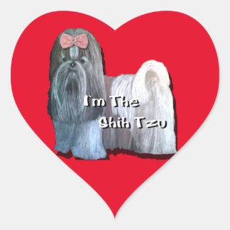 Ik ben Shih Tzu - de Stickers van het Hart