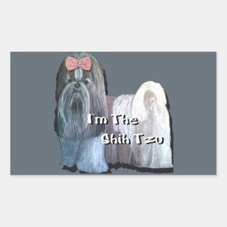 Ik ben Shih Tzu - Stickers
