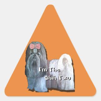 Ik ben Shih Tzu - waarschuw Stickers