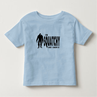 Ik ben Squatchy Kinder Shirts