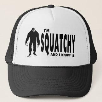 Ik ben Squatchy Trucker Pet