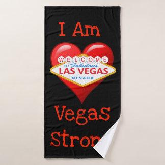 Ik ben Sterke Vegas Bad Handdoek