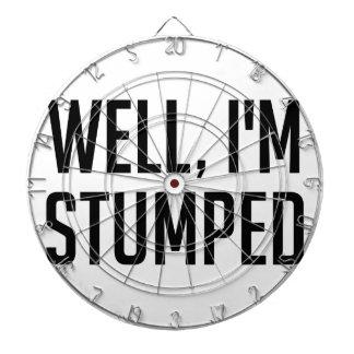 Ik ben Stumped Dartbord