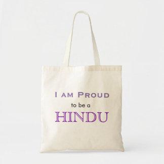 Ik ben trots om een Hindoes bolsa te zijn Draagtas