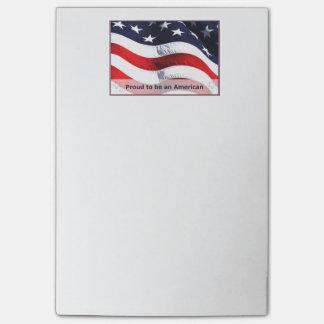 Ik ben Trots om Nota's van een de Amerikaanse Post-it® Notes