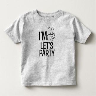 Ik ben Twee laten we overhemd van de het Kinder Shirts