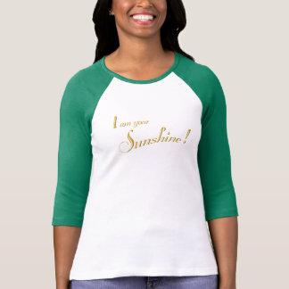 Ik ben Uw Zonneschijn! 3/4 T-shirt van het Sleeve